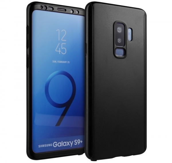 Husa Full Cover 360 Samsung Galaxy S9 Plus, Negru 0