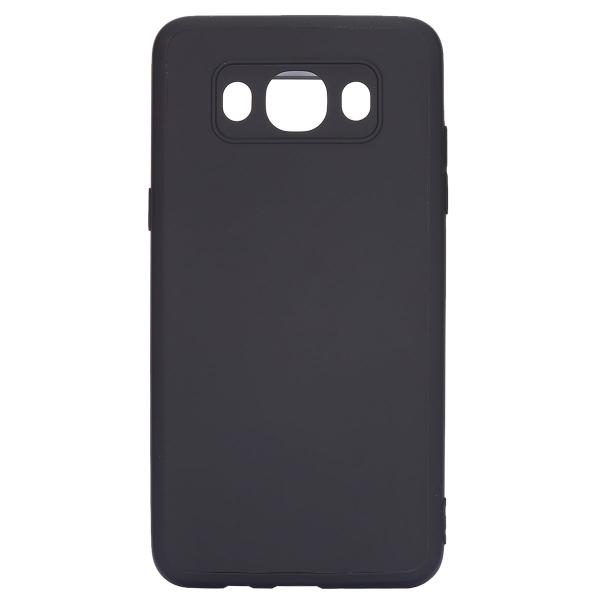 Husa Full Silicone 360 pentru Samsung Galaxy J3 (2016), Negru 0