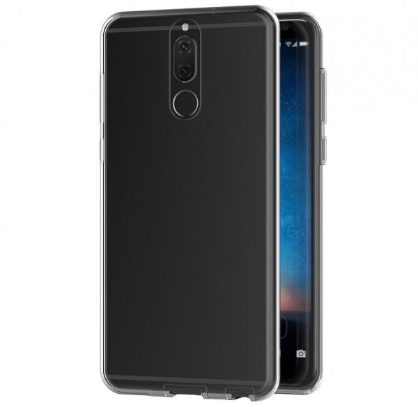 Husa Full TPU 360 fata spate Huawei Mate 10 Lite, Transparent 1