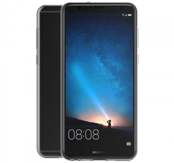 Husa Full TPU 360 fata spate Huawei Mate 10 Lite, Transparent 3
