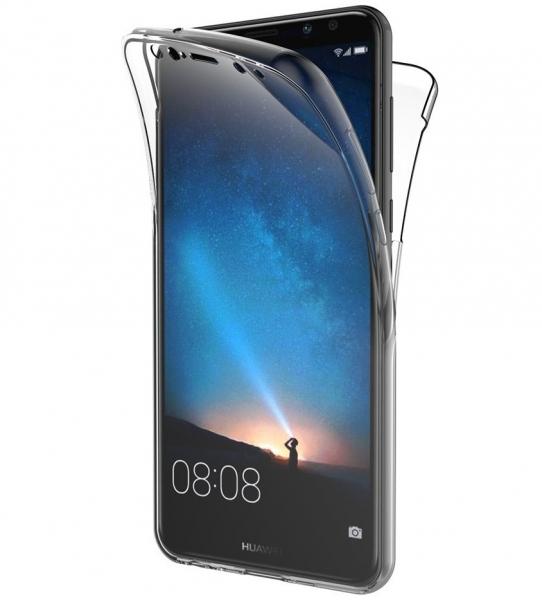 Husa Full TPU 360 fata spate Huawei Mate 10 Lite, Transparent 0