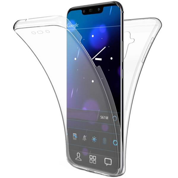 Husa Full TPU 360 fata + spate Huawei Mate 20 Lite, Transparent 0