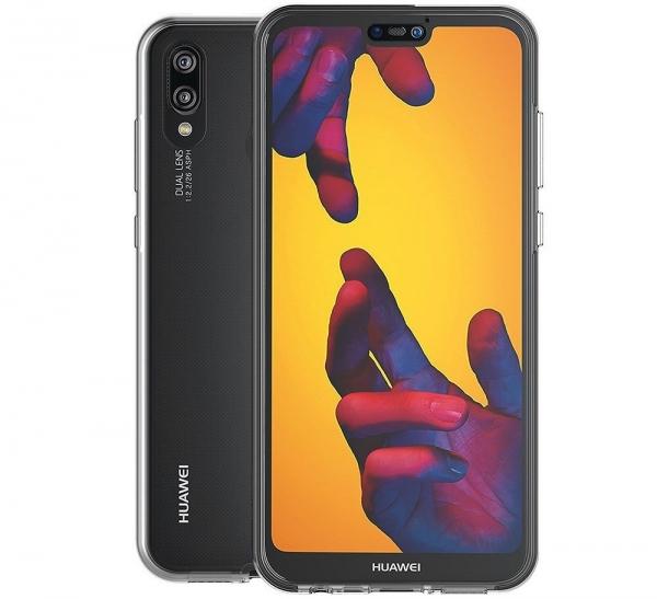 Husa Full TPU 360 fata + spate Huawei P20 Lite, Transparent [1]