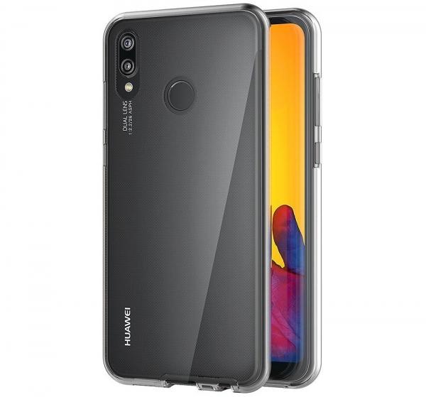 Husa Full TPU 360 fata + spate Huawei P20 Lite, Transparent [2]