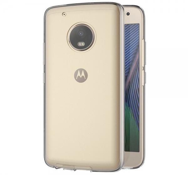 Husa Full TPU 360 fata + spate Motorola Moto G5 Plus, Transparent 2
