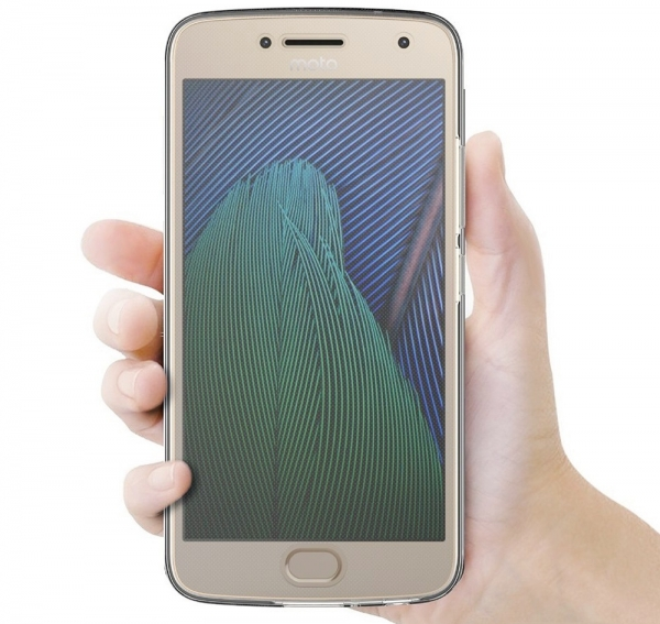 Husa Full TPU 360 fata + spate Motorola Moto G5 Plus, Transparent 3