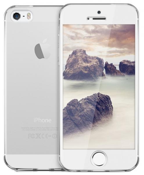 Husa Full TPU 360 (fata + spate) pentru Apple iPhone 5 / 5S / SE, Transparent 1