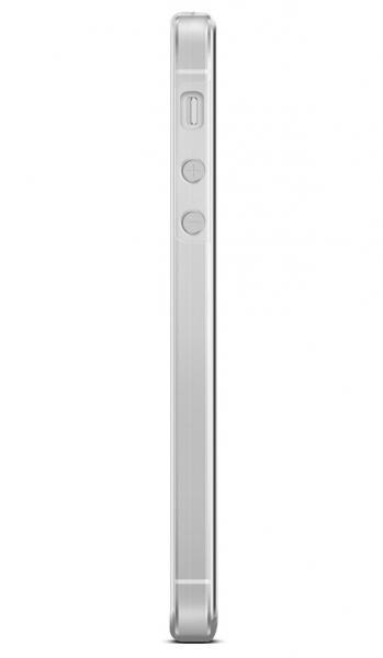 Husa Full TPU 360 (fata + spate) pentru Apple iPhone 5 / 5S / SE, Transparent 3