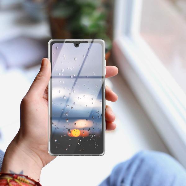 Husa Full TPU 360 fata + spate pentru Huawei P30, Transparent 1