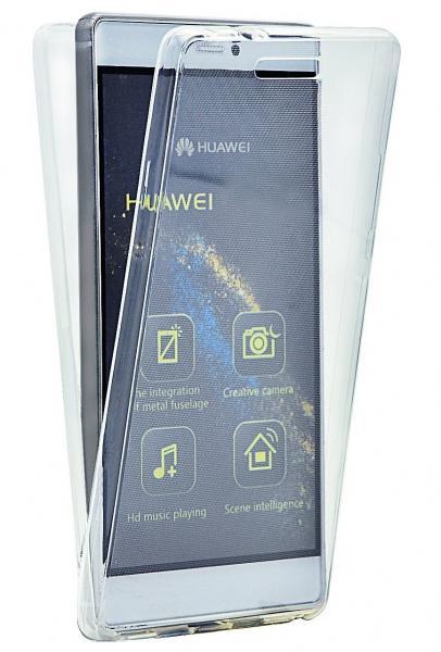 Husa Full TPU 360 (fata + spate) pentru Huawei P8, Transparent 0