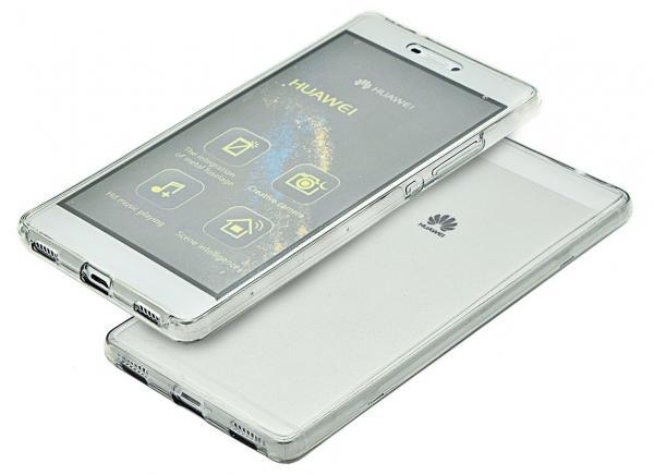 Husa Full TPU 360 (fata + spate) pentru Huawei P8, Transparent 1