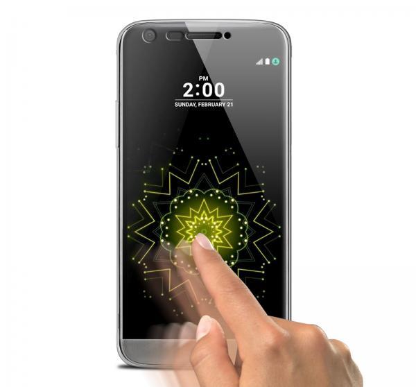 Husa Full TPU 360 (fata + spate) pentru LG G5, Gri Transparent 1