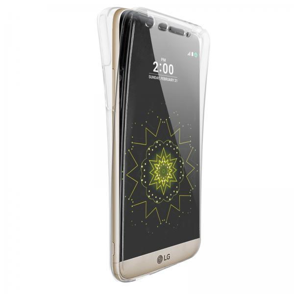 Husa Full TPU 360 (fata + spate) pentru LG G5, Transparent 1