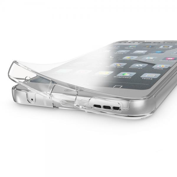 Husa Full TPU 360 (fata + spate) pentru LG G6, Transparent 1
