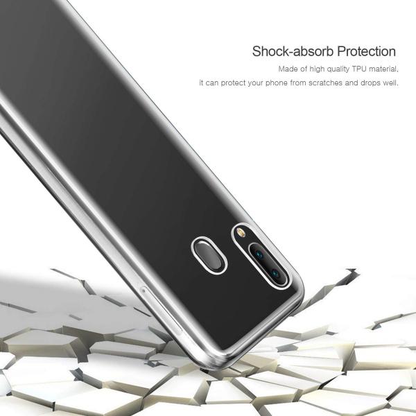 Husa Full TPU 360 fata + spate pentru Samsung Galaxy A20e, Transparent [3]