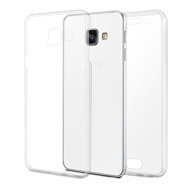 Husa Full TPU 360 (fata + spate) pentru Samsung Galaxy A3 (2016), Transparent 0