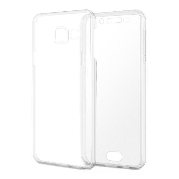 Husa Full TPU 360 (fata + spate) pentru Samsung Galaxy A3 (2016), Transparent 2