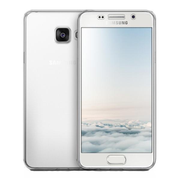 Husa Full TPU 360 (fata + spate) pentru Samsung Galaxy A3 (2016), Transparent 1