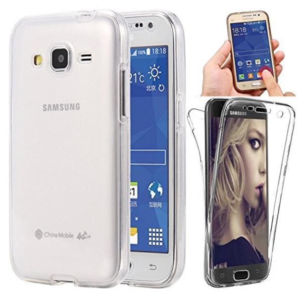 Husa Full TPU 360 (fata + spate) pentru Samsung Galaxy A5 (2015), Transparent 1