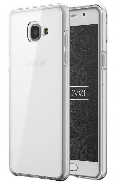 Husa Full TPU 360 (fata + spate) pentru Samsung Galaxy A5 (2016), Transparent 1