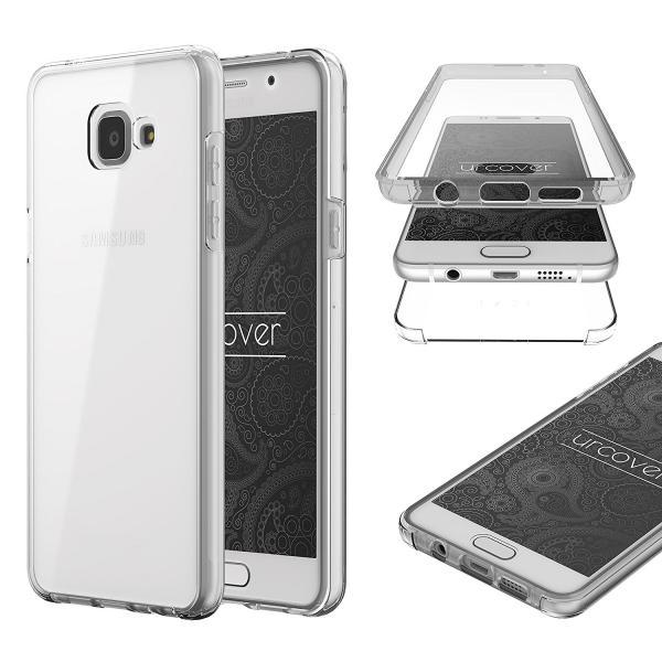 Husa Full TPU 360 (fata + spate) pentru Samsung Galaxy A5 (2016), Transparent 0