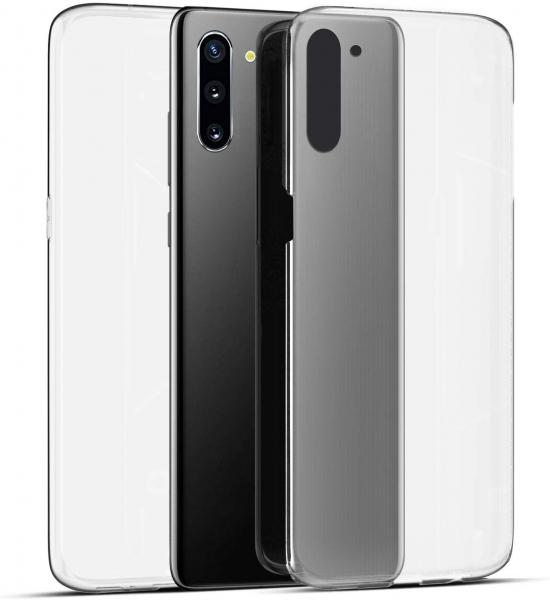 Husa Full TPU 360 fata + spate pentru Samsung Galaxy Note 10, Transparent 1