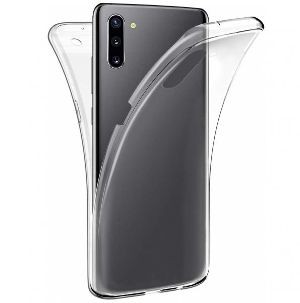 Husa Full TPU 360 fata + spate pentru Samsung Galaxy Note 10, Transparent 0