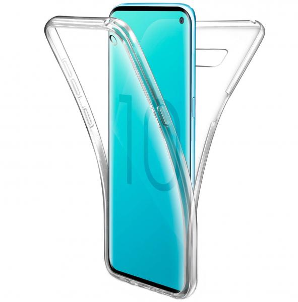 Husa Full TPU 360 fata + spate pentru Samsung Galaxy S10e, Transparent 0
