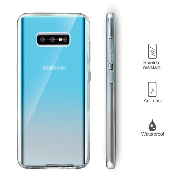 Husa Full TPU 360 fata + spate pentru Samsung Galaxy S10e, Transparent 2