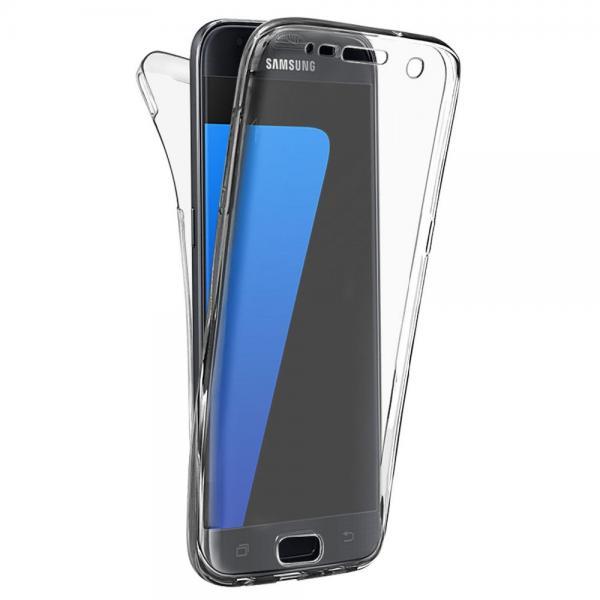 Husa Full TPU 360 (fata + spate) pentru Samsung Galaxy S6, Transparent 0