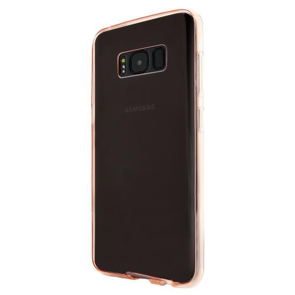 Husa Full TPU 360 (fata + spate) pentru Samsung Galaxy S8 Plus, Rose Gold Transparent 1