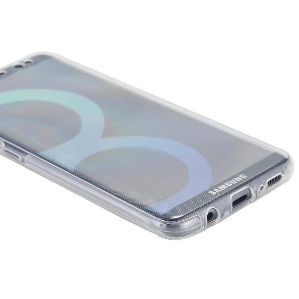 Husa Full TPU 360 (fata + spate) pentru Samsung Galaxy S8 Plus, Transparent 4
