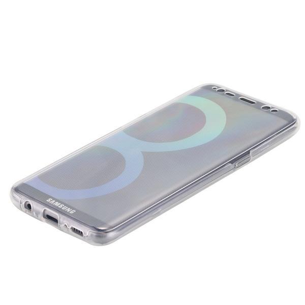 Husa Full TPU 360 (fata + spate) pentru Samsung Galaxy S8 Plus, Transparent 3