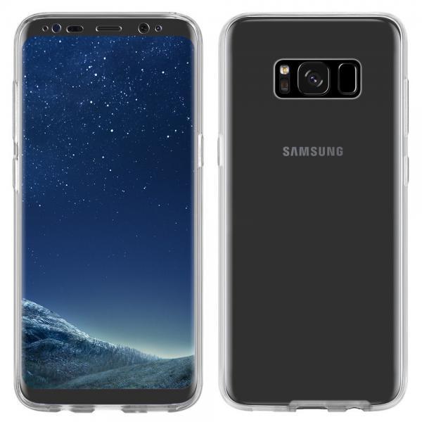 Husa Full TPU 360 (fata + spate) pentru Samsung Galaxy S8 Plus, Transparent 2