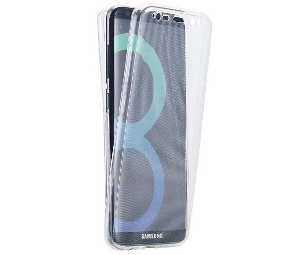 Husa Full TPU 360 (fata + spate) pentru Samsung Galaxy S8, Transparent 2