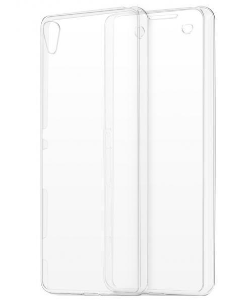 Husa Full TPU 360 (fata + spate) pentru Sony Xperia XA, Transparent