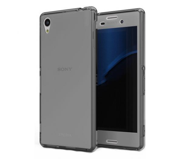 Husa Full TPU 360 (fata + spate) pentru Sony Xperia Z3, Gri transparent 0