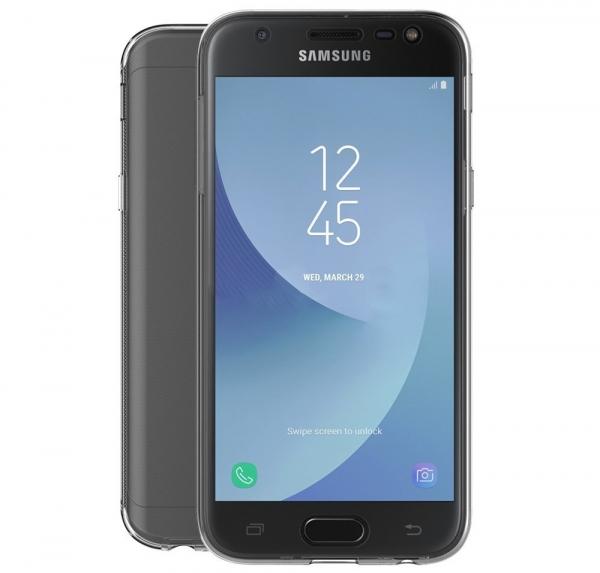 Husa Full TPU 360 fata spate Samsung Galaxy J3 (2017), Transparent 1