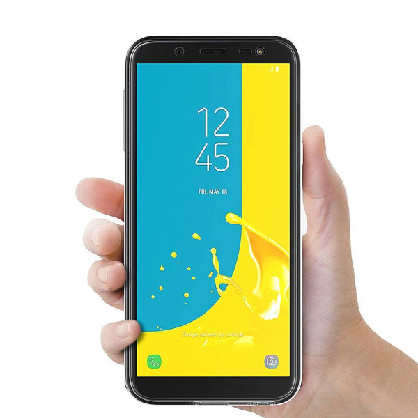 Husa Full TPU 360 fata + spate Samsung Galaxy J6 (2018), Transparent 1