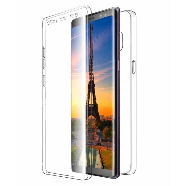 Husa Full TPU 360 (fata + spate) Samsung Galaxy Note 8, Transparent 1