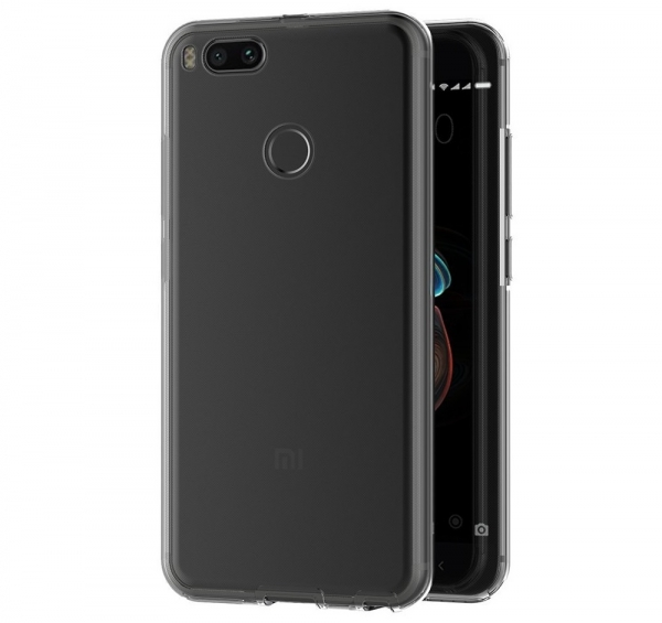 Husa Full TPU 360 fata spate Xiaomi Mi A1, Transparent 2