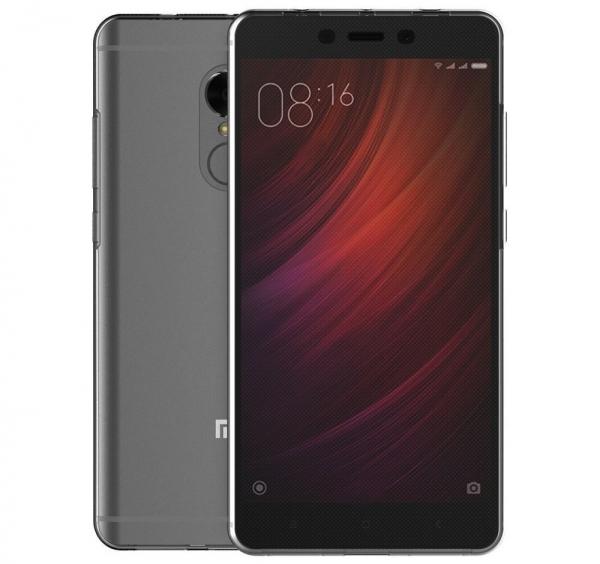 Husa Full TPU 360 fata spate Xiaomi Redmi Note 4, Gri Transparent 2