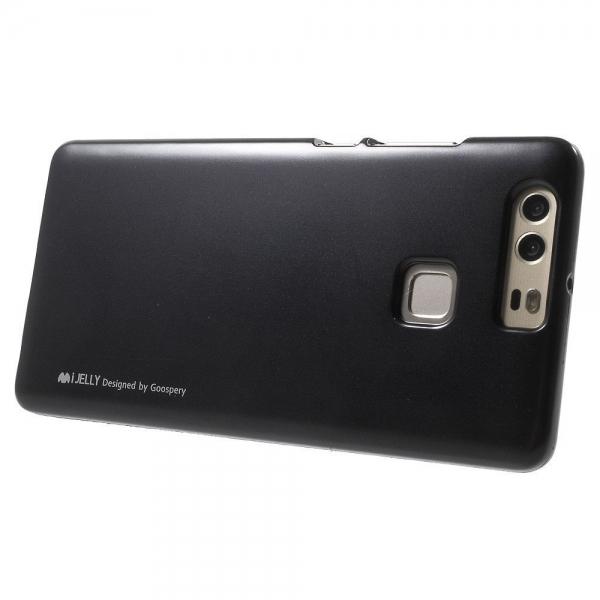 Husa Goospery i-Jelly Huawei P9, Black 3