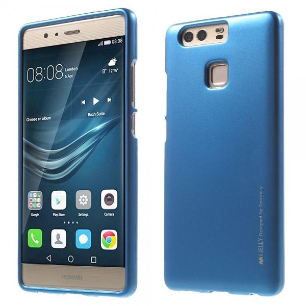 Husa Goospery i-Jelly Huawei P9, Blue 0