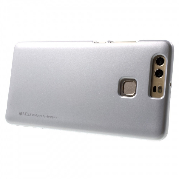 Husa Goospery i-Jelly Huawei P9, Silver 2