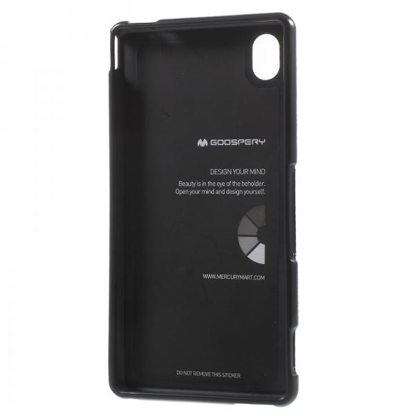 Husa Goospery i-Jelly Sony Xperia M4 Aqua, Black 2