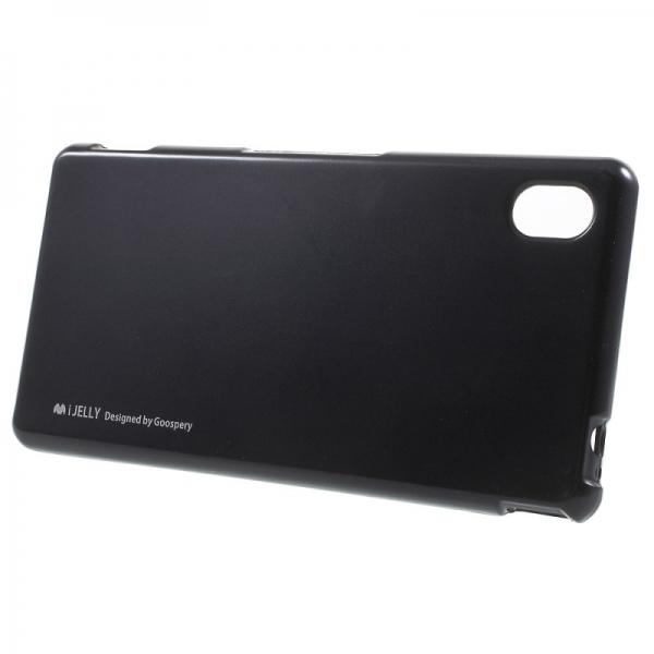 Husa Goospery i-Jelly Sony Xperia M4 Aqua, Black 1