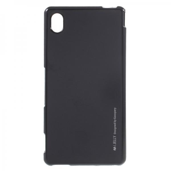 Husa Goospery i-Jelly Sony Xperia M4 Aqua, Black 0