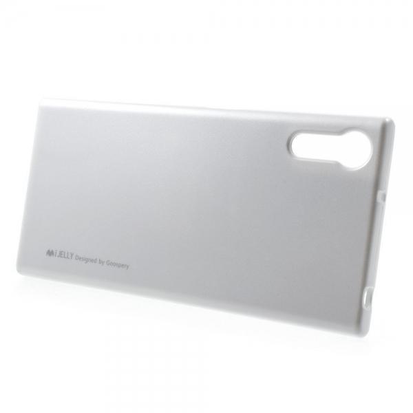 Husa Goospery i-Jelly Sony Xperia XZ, Silver 1