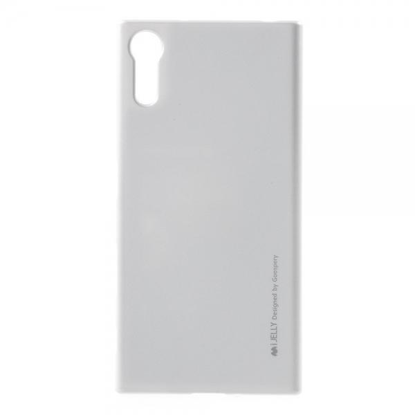 Husa Goospery i-Jelly Sony Xperia XZ, Silver 0